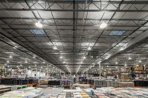 A commercial lighting project at Costco Vancouver, WA