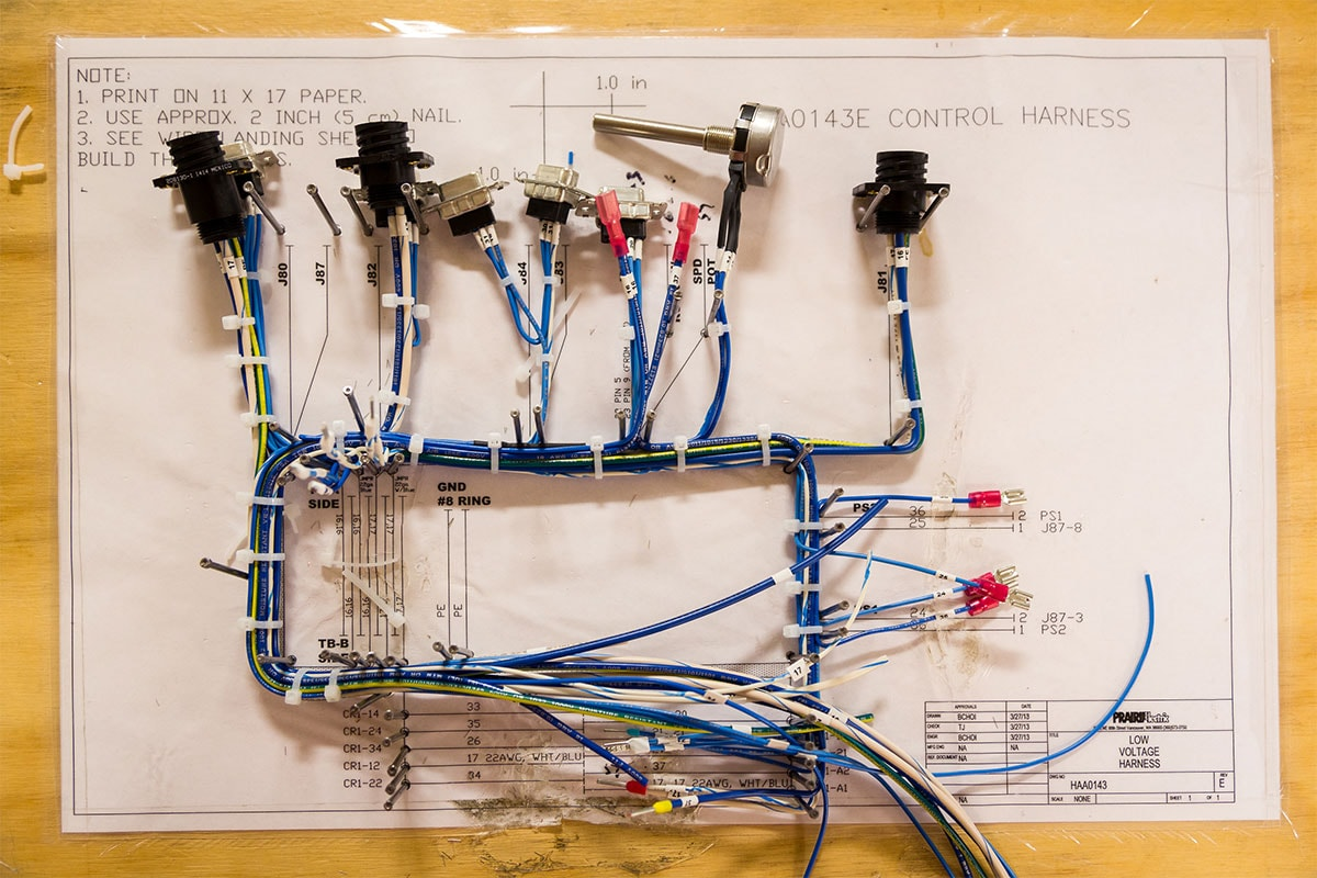 Wire Harness For Electrical Panel Trusted Wiring Diagram Guard Harnesses Prairie Electric Motor