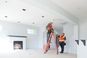 Our electricians are rewiring a house in Vancouver, WA