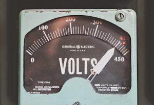 Antique Voltage Meter
